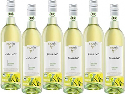 Peter Mertes Kg Biorebe Silvaner Qualitätswein Halbtrocken 750ml 6er Pack