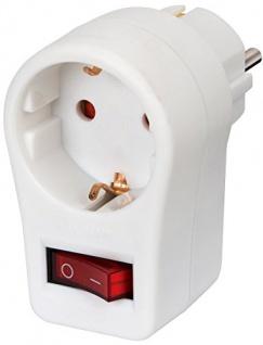 Brennenstuhl Energiespar Schutzkontaktsteckdose weiß 3er Pack