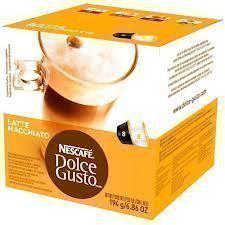 Nescafe Dolce Gusto Latte Macchiato (3 Stück Packung), 3x16 Kaffee Kapseln