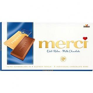 Storck merci Edel-Rahm Tafelschokolade 100g