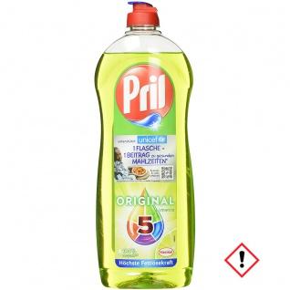 Pril Original Limette höchste Fettlösekraft Eingebranntes 14er Pack