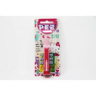 PEZ Hello Kitty Spender rosa Lama mit 2 Päckchen süßen Bonbons 17g