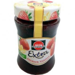 Schwartau Erdbeer Vanille Konfitüre 340g