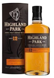 Highland Park 12 Jahre Single Malt Scotch Whiskey 40% Vol. 700ml