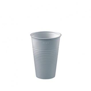 Einweg Plastikbecher Trinkbecher Papstar Polystyrol 200ml 100 Stück