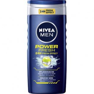 Nivea Men Duschgel Power Refresh Pflegedusche mit Menthol 250ml
