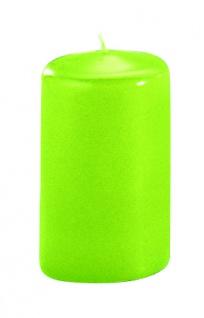 Kerzen Stumpenkerzen Candle limone 80x60mm RAL Qualität 1 Stück