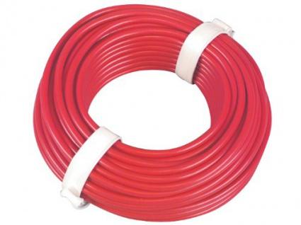Kfz Fahrzeugleitung 1, 5 mm 10 m rot
