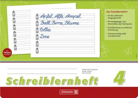 Schreiblernhefte Nr. 4 DIN A4