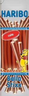 Haribo Balla Stixx Fruchtgummistangen mit Cola-Geschmack 200g