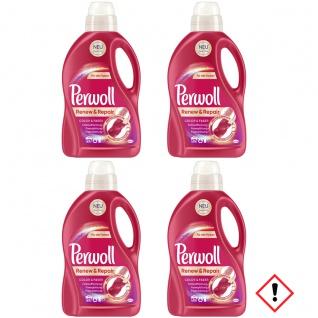 Perwoll Renew und Repair color Faser 24 Waschladungen 1440ml 4er Pack