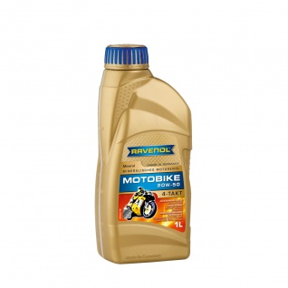 Ravenol Motobike 4T Mineral SAE 20W 50 Mineralisches Motorenöl 1L