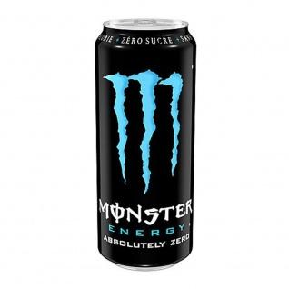 Monster Absolutely Zero koffeinhaltiges Erfrischungsgetränk ohne Zucker