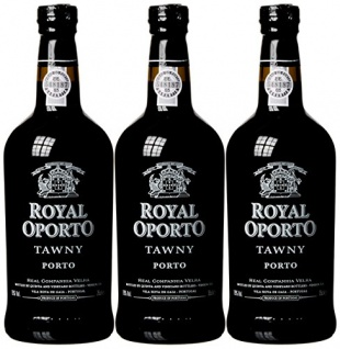 Royal Oporto Tawny Port 3er Set