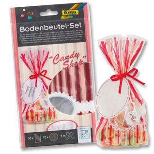 Bodenbeutel Set Candy Shop lebensmittelecht zum verpacken 10 Stück