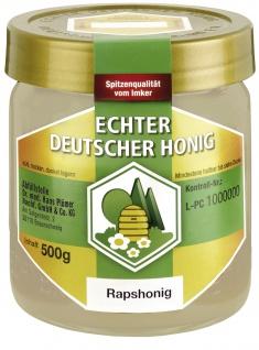 Echter Deutscher Honig DIB Raps-Honig 500g