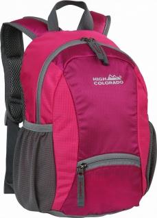 HIGH COLORADO Woody Kinder Rucksack gepolsterten Schultergurten pink