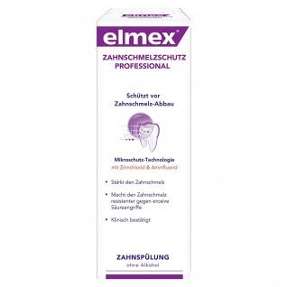 Elmex Zahnschmelzschutz Zahnspülung reduziert Zahnschmelz-Abbau 400ml 4er Pack