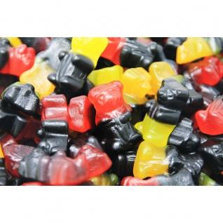 Fruchtgummi und Süßlakritz bunter Bären Mix 3 fach sortiert 300g