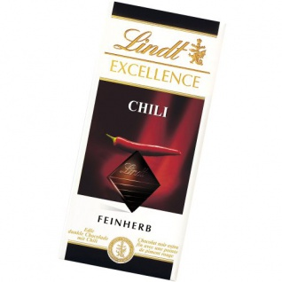 Lindt und Sprüngli Schokolade Excellence Feinherb mit Chilli 100g