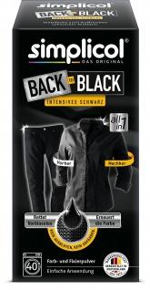 Simplicol Farberneuerung und Auffrischung Back to Black 400g