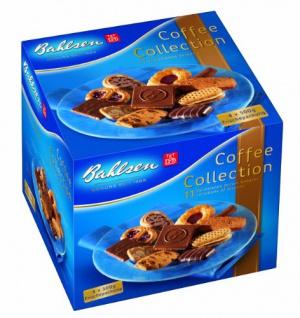 Bahlsen Coffee Collection eine Mischung mit 11 Gebäckspezialitäten 4 x 500g
