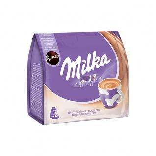Senseo Milka Pads aromatisches Kakaohaltiges Getränk 108g 5er Pack