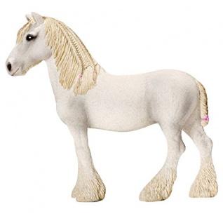 Schleich 13735 Farm World Shire Horse Stute handbemalt detailgetreu