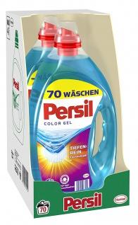 Persil Color Gel flüssige Variante 70 Waschladungen 3500 ml 2er Pack - Vorschau 2