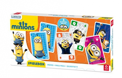 Minions 3-in-1 Spielebox
