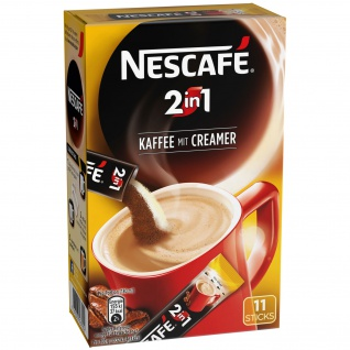 Nescafé 2in1 StiX, 10 Portionssticks á 8g