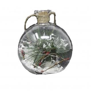 Glaskugel beleuchtet 10 cm