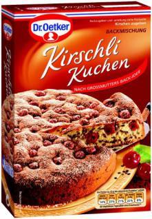 Dr Oetker Backmischung Kirschli Kuchen Kaufen Bei Mega Paradies Gmbh