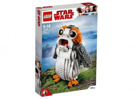 Lego Star Wars 75230 Porg Baue und präsentiere deinen eigenen Porg!