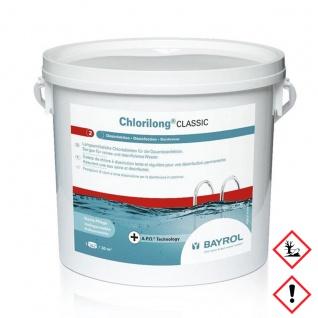 Bayrol Desinfektion Chlorilong Classic Clorodor Control Kapsel 5000g