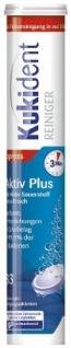 Kukident Reiniger Aktiv Plus Zahnersatz Reinigungstabletten 33 Stück