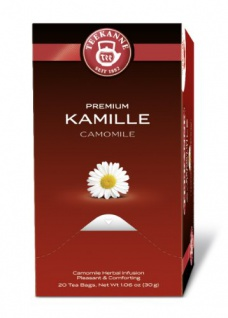 Teekanne Premium Kamille Kräutertee mildes Teegetränk 5er Pack