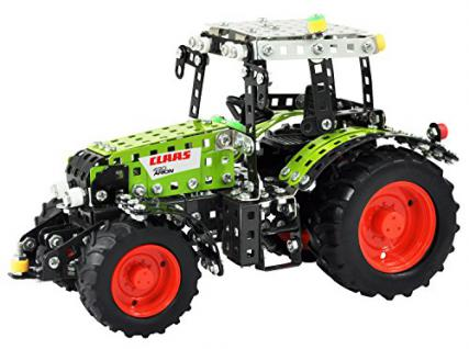 RCEE 10064 - Metallbaukasten - funkferngesteuerter Traktor Claas Arion 430, Maßstab 1:24, RC mit 4 Kanälen, grün - Vorschau
