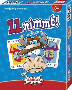 Amigo 11 nimmt Ein spannendes Kartenspiel für die ganze Familie