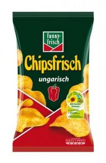 Funny frisch Chipsfrisch ungarisch mit Paprikawürzung Classic 175g