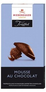 Niederegger Trüffel Tafel Mousse au Chocolat Zartbitter 100g