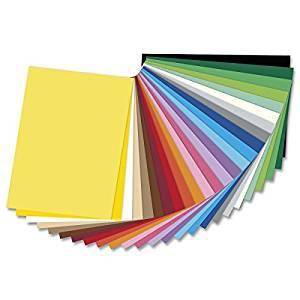 Tonzeichenpapier 130g/qm, 50 x 70 cm