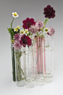 Glasvase TEST TUBE, 14 cm, 1 Stück von Sandra Rich