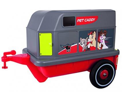 Big 800056261 Bobby-Car-Pet-Caddy, rot grau