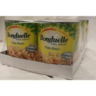 Bonduelle Witte Bonen 6 x 800g Konserve (Weiße Bohnen)
