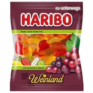 Haribo Weinland echtes Weingummi weich fruchtig leicht sauer 100g