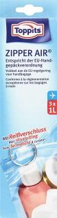 Toppits Zipper Air-Beutel 1 Liter