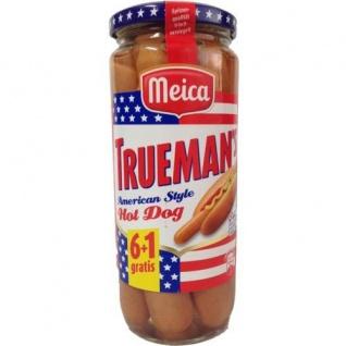 Meica Truemans Hot Dog-Würstchen 350g