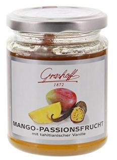 Grashoff - Mango-Passionsfrucht Konfitüre Extra - 250g