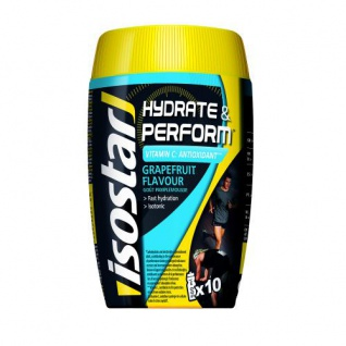 Isostar Hydrate & Perform Grapefruit Flavour Pulver 400g Dose